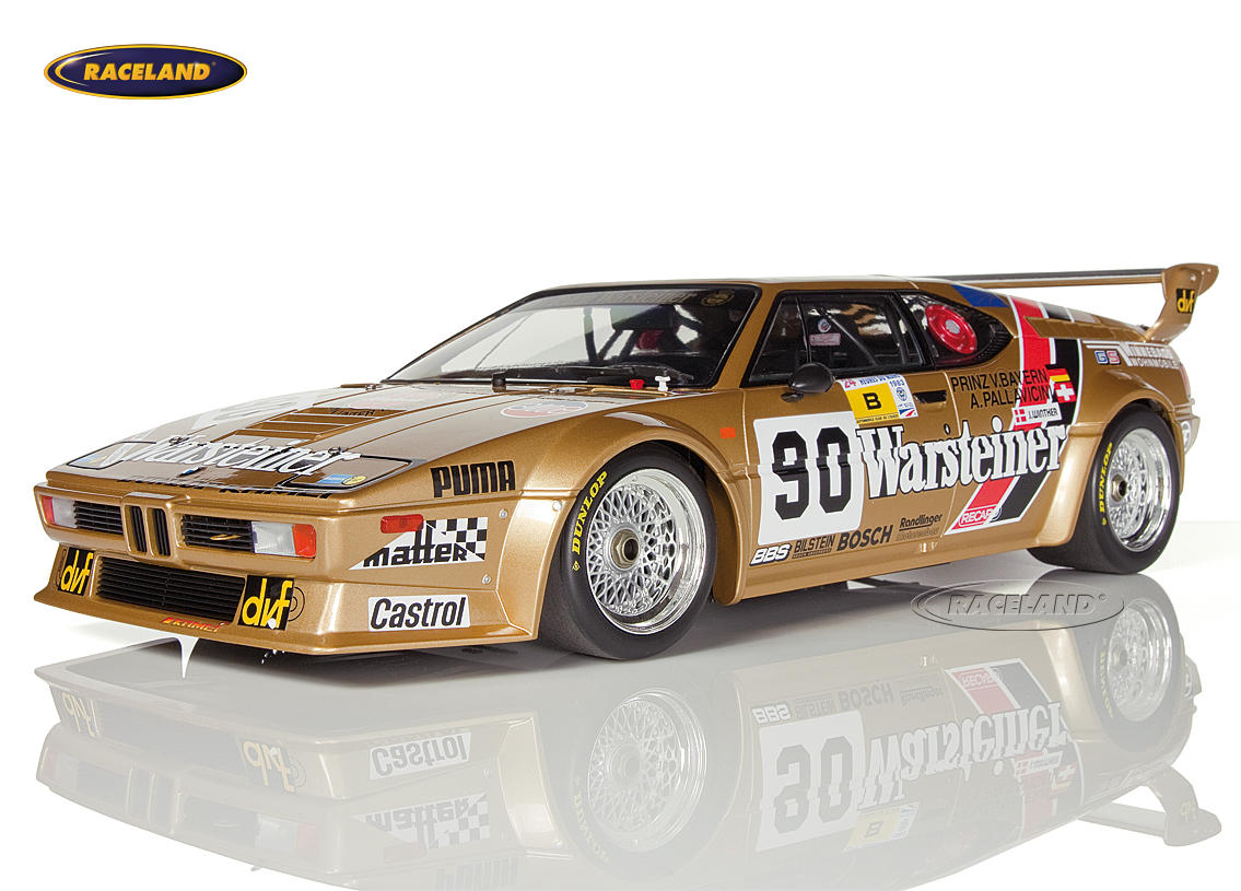 bmw m1 warsteiner 24h le mans 1983 pallavicini winther von bayern scale 1 12th 1980 1984 24h. Black Bedroom Furniture Sets. Home Design Ideas