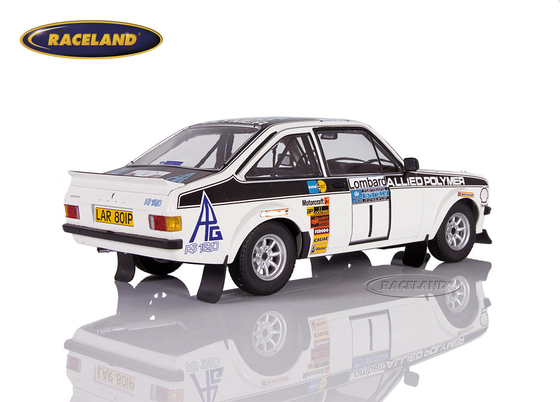Ford Escort RS1800 MkII Allied Polymer winner RAC Lombard Rally 1975 Mäkinen/Liddon Image 2