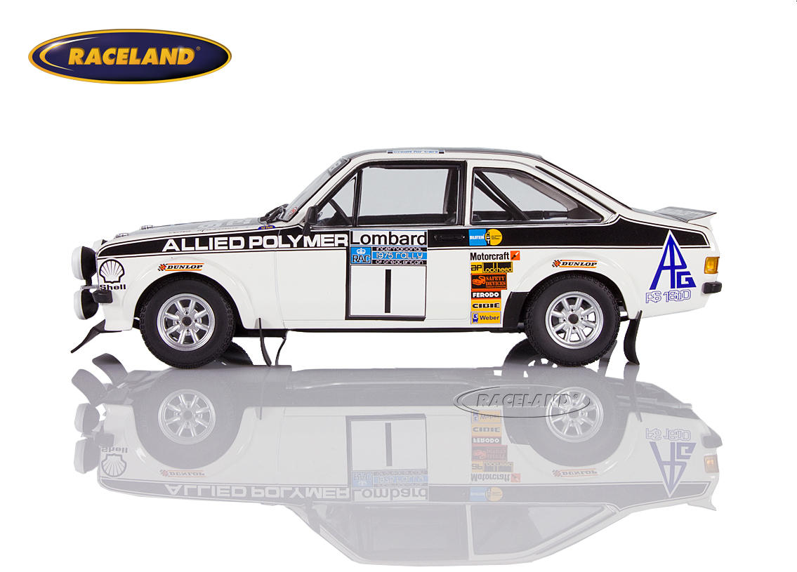 Ford Escort RS1800 MkII Allied Polymer winner RAC Lombard Rally 1975 Mäkinen/Liddon Image 3
