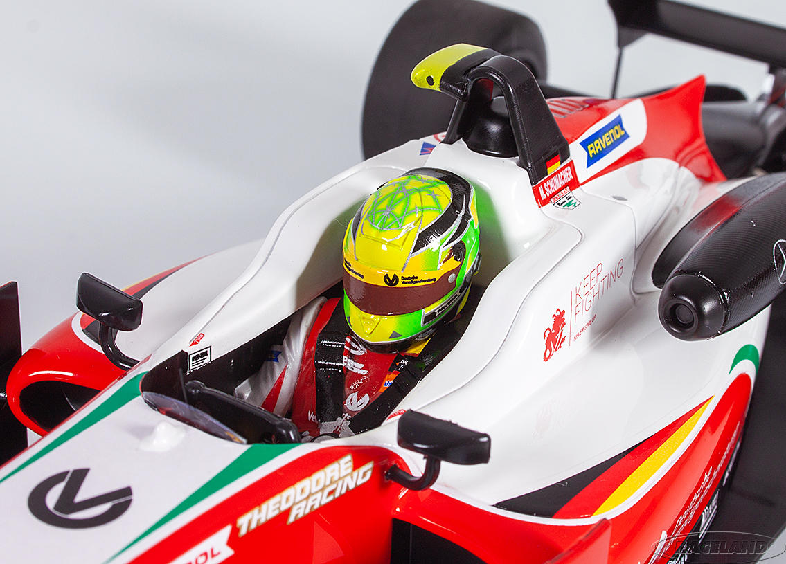 Dallara Mercedes F317 Prema Theodore Racing 2° F3 Hockenheim 2018 European F3 Champion Mick Schumacher Image 4