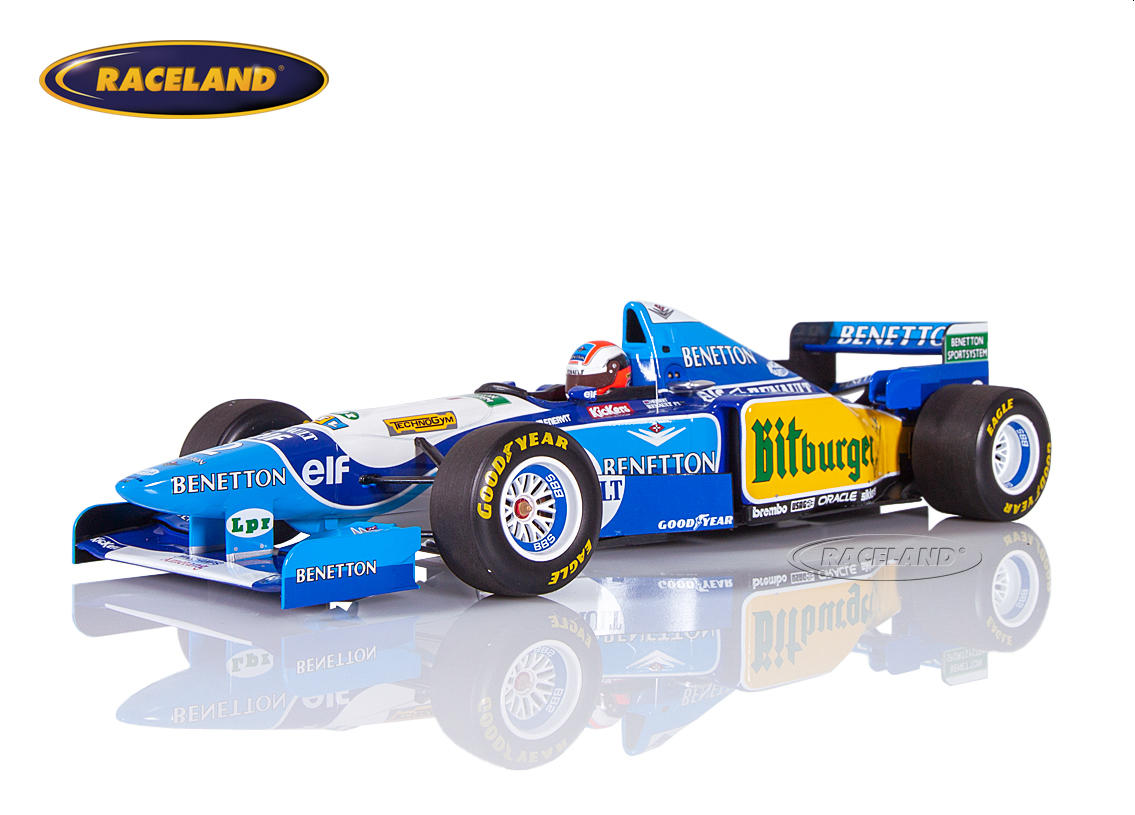 Benetton-Renault B195 V10 F1 winner British GP 1995 Johnny Herbert