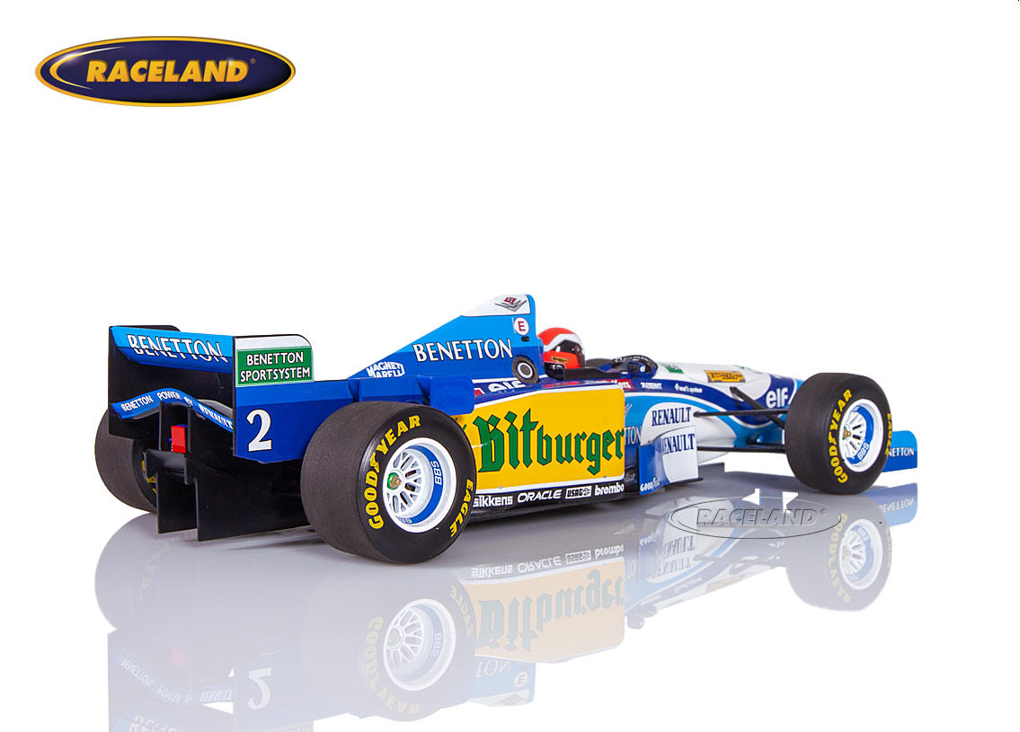Benetton-Renault B195 V10 F1 winner British GP 1995 Johnny Herbert Image 2