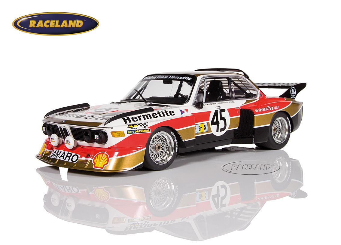 bmw 3 5 csl hermetite products 24h le mans 1976 walkinshaw fitzpatrick scale 1 18th 1975 1979. Black Bedroom Furniture Sets. Home Design Ideas