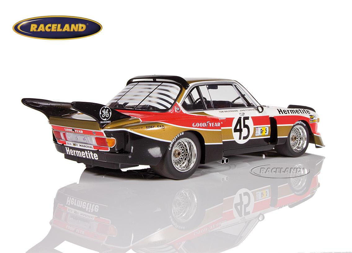 BMW 3 5 CSL Hermetite Products 24H Le Mans 1976 Walkinshaw/Fitzpatrick