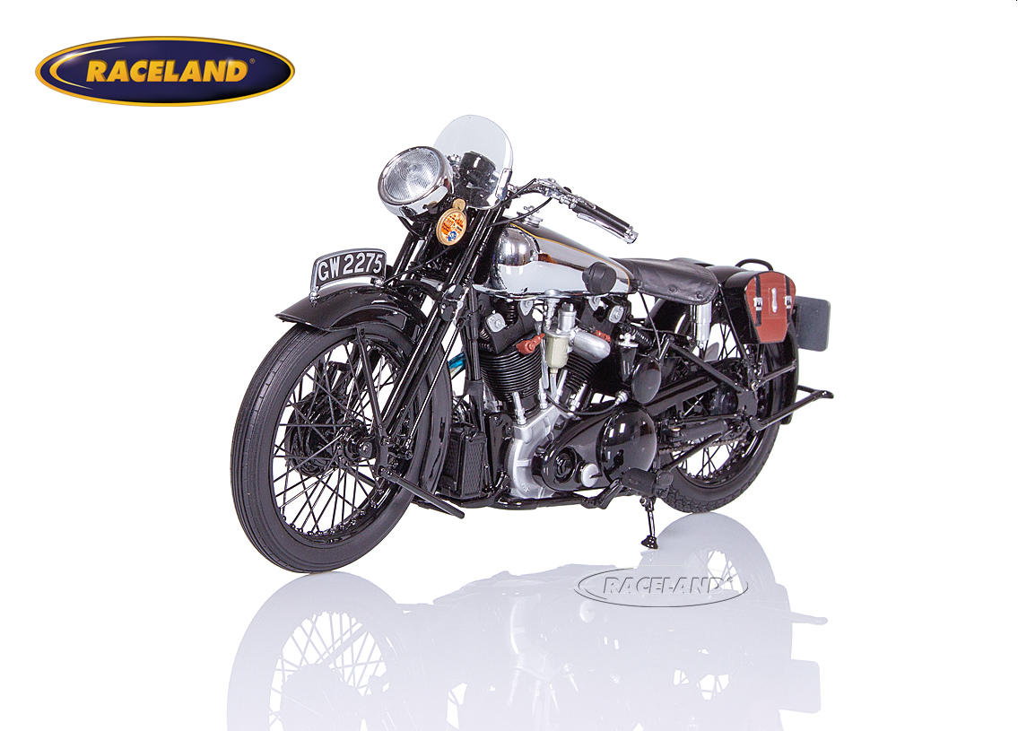 Brough Superior SS 100 T.E. Lawrence 1932 black