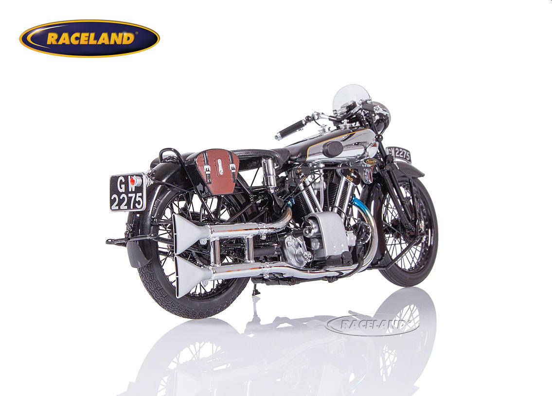 Brough Superior SS 100 T.E. Lawrence 1932 black Image 2