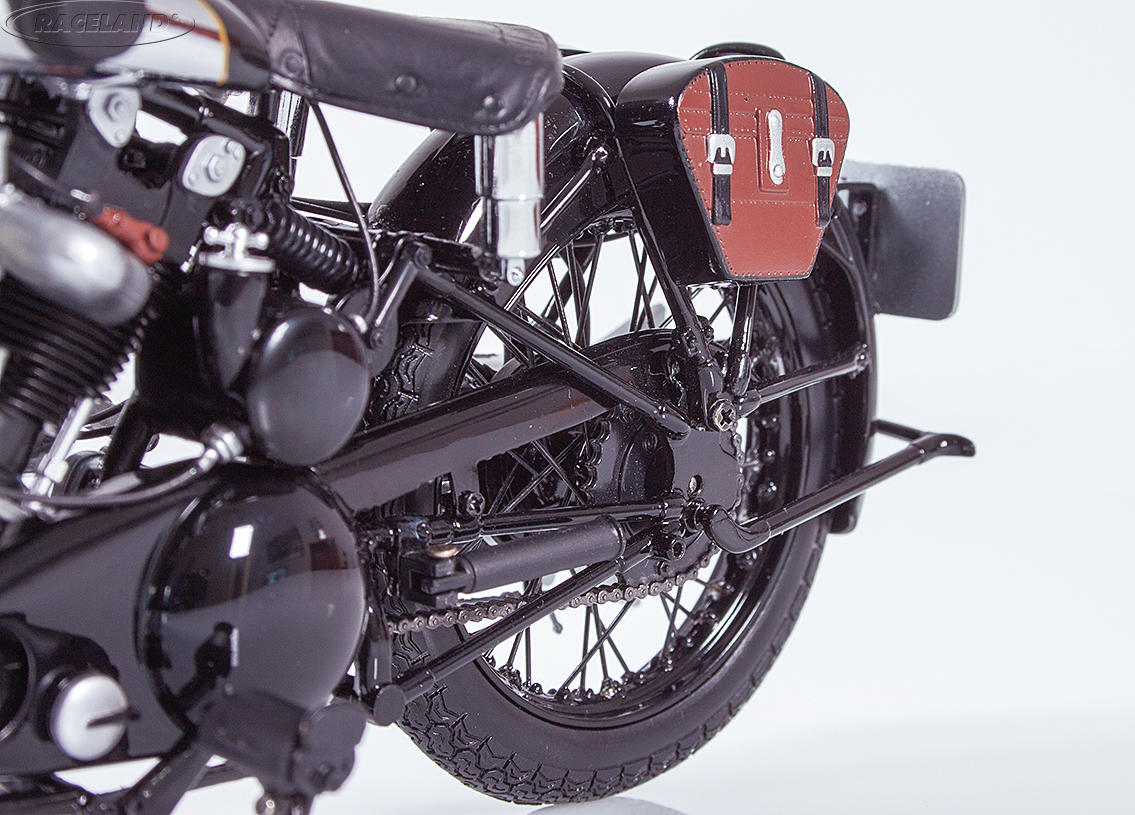 Brough Superior SS 100 T.E. Lawrence 1932 black Image 4