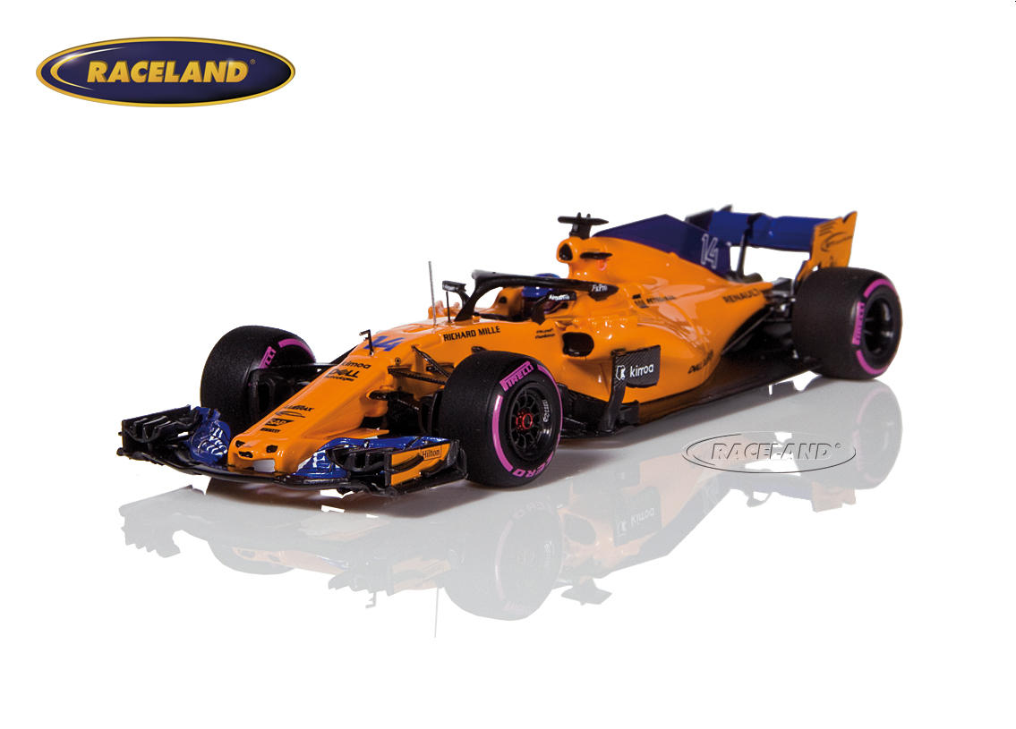 McLaren MCL33 Renault F1 Canadian GP 2018 300th Formula 1 GP Fernando Alonso