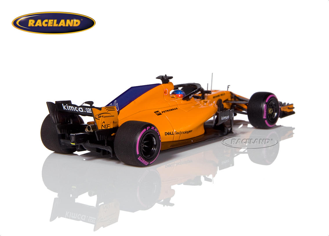 McLaren MCL33 Renault F1 Canadian GP 2018 300th Formula 1 GP Fernando Alonso Image 2