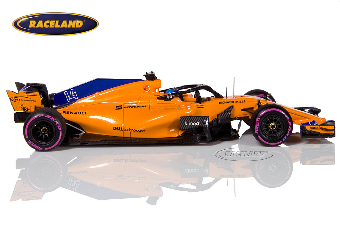 McLaren MCL33 Renault F1 Canadian GP 2018 300th Formula 1 GP Fernando Alonso Image 3