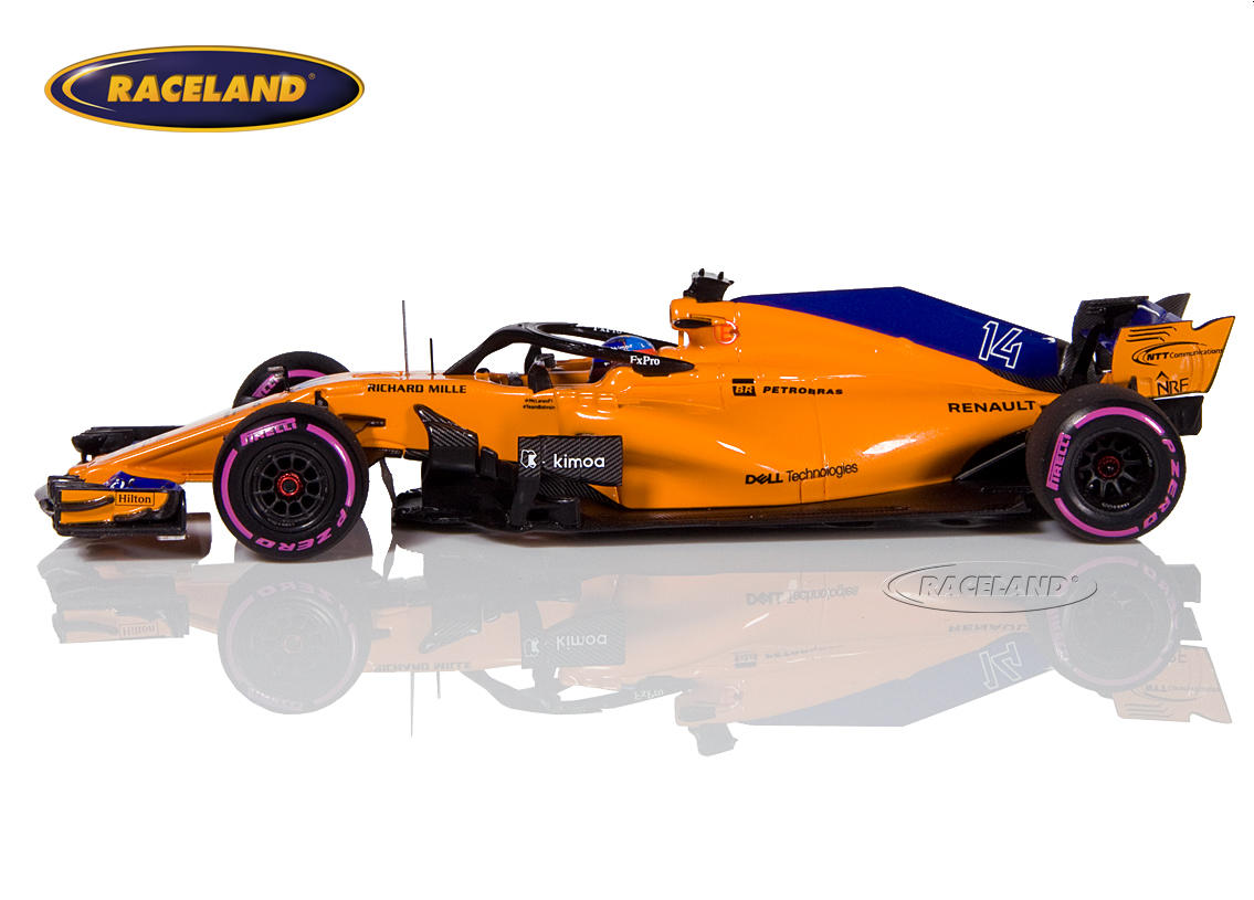 McLaren MCL33 Renault F1 Canadian GP 2018 300th Formula 1 GP Fernando Alonso Image 4