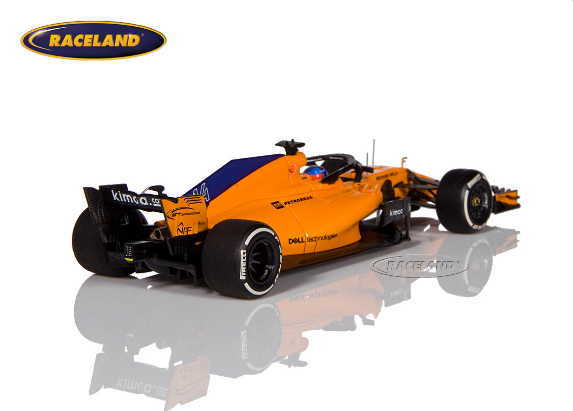 McLaren MCL33 Renault F1 2018 Fernando Alonso Image 2