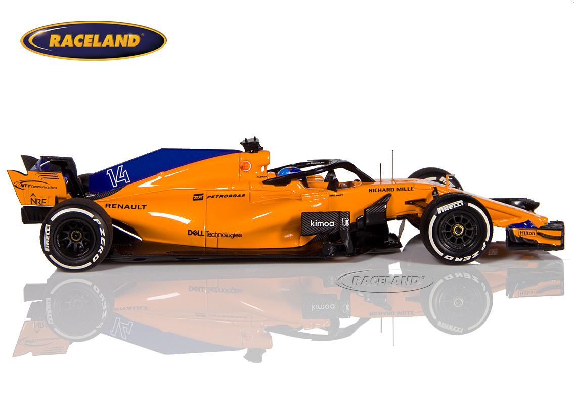 McLaren MCL33 Renault F1 2018 Fernando Alonso Image 3
