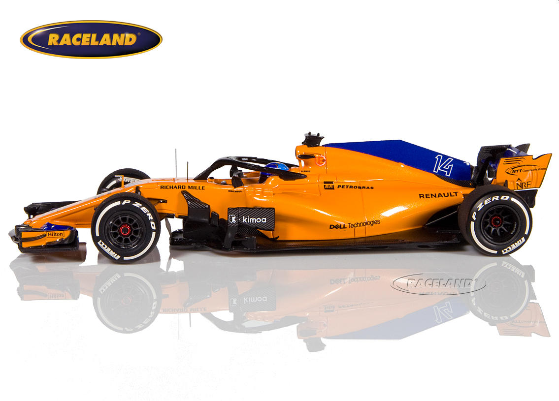 McLaren MCL33 Renault F1 2018 Fernando Alonso Image 4