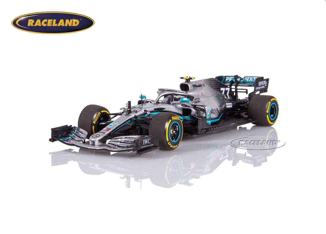 Mercedes AMG Petronas W10 EQ Power+ F1 2019 Valtteri Bottas