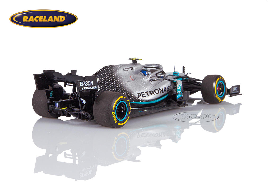 Mercedes AMG Petronas W10 EQ Power+ F1 2019 Valtteri Bottas Image 2