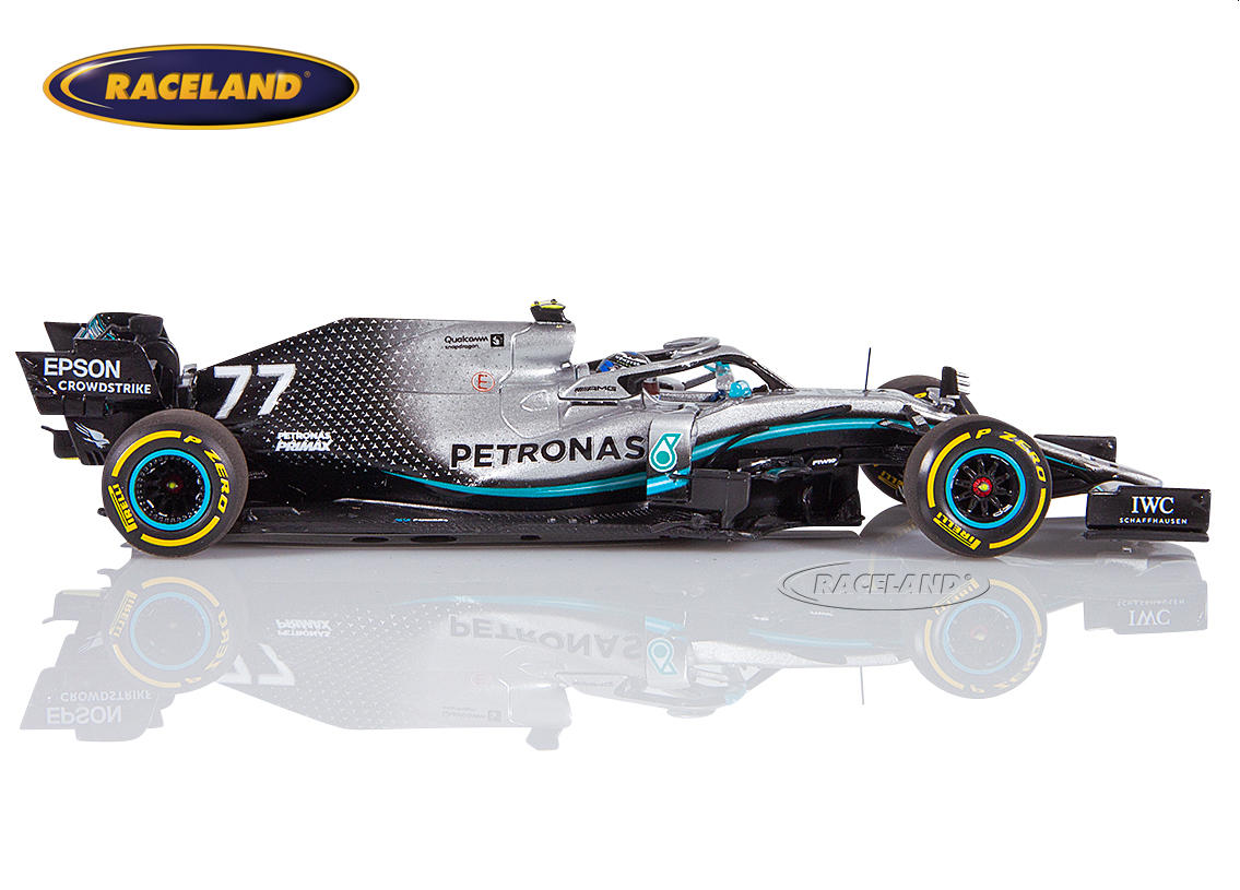 Mercedes AMG Petronas W10 EQ Power+ F1 2019 Valtteri Bottas Image 3