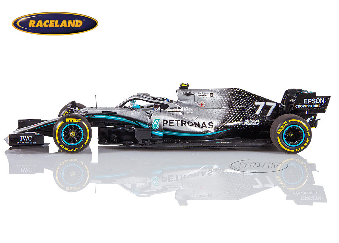 Mercedes AMG Petronas W10 EQ Power+ F1 2019 Valtteri Bottas Image 4