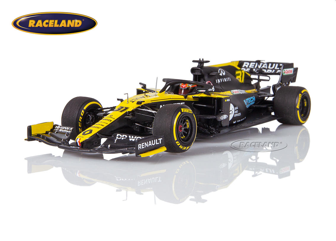 Renault DP World F1 Team F1 launch spec 2020 Esteban Ocon