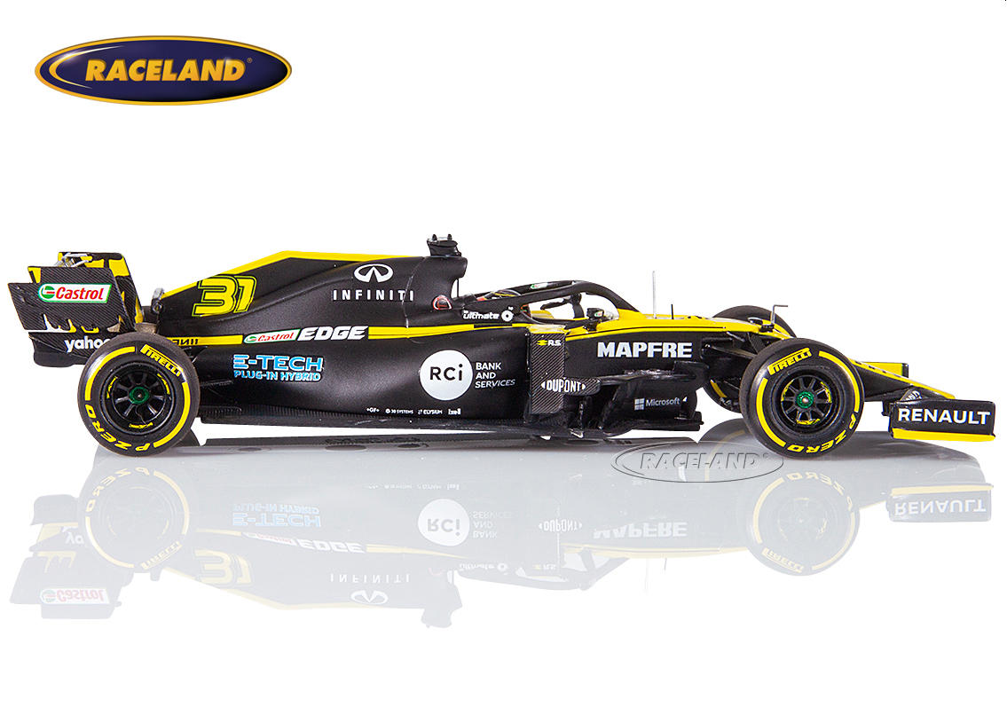 Renault DP World F1 Team F1 launch spec 2020 Esteban Ocon Image 3