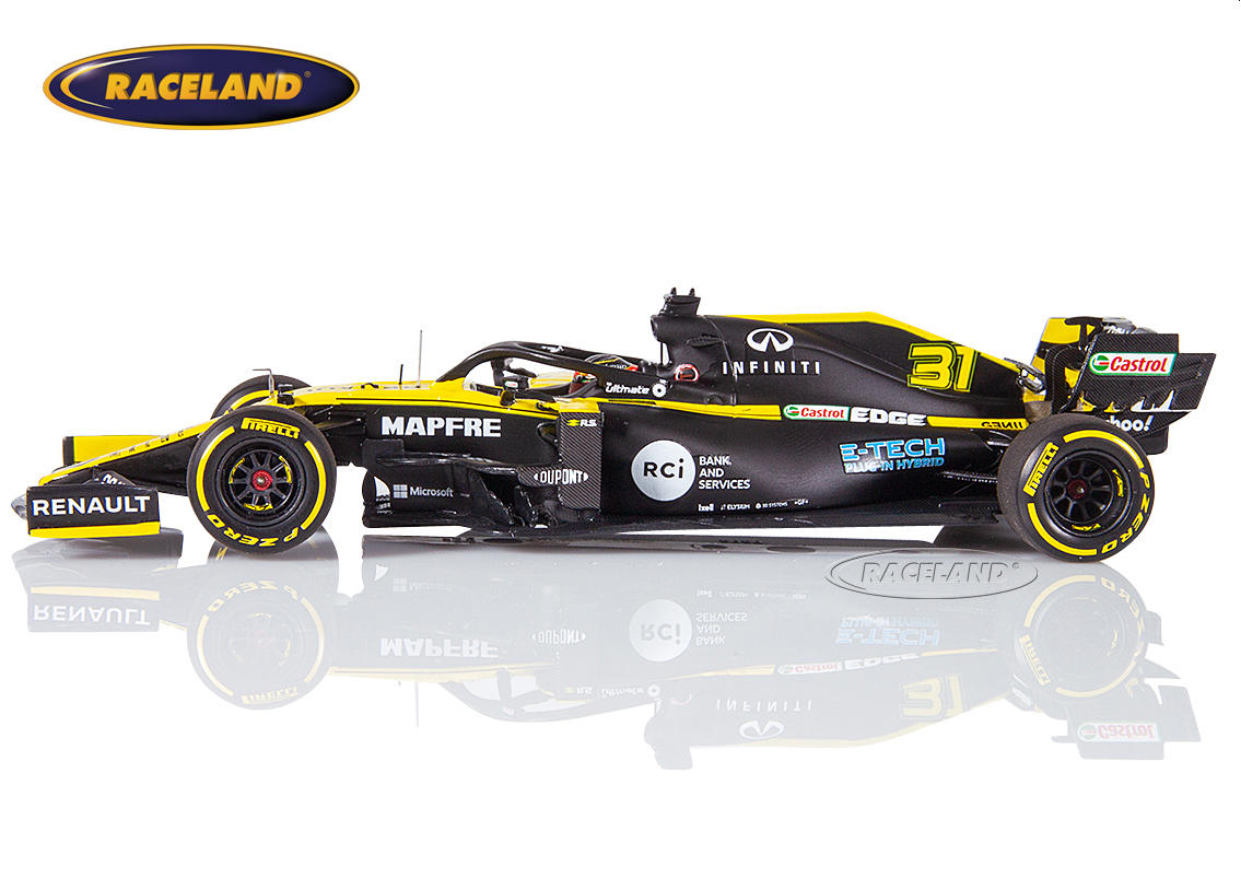 Renault DP World F1 Team F1 launch spec 2020 Esteban Ocon Image 4