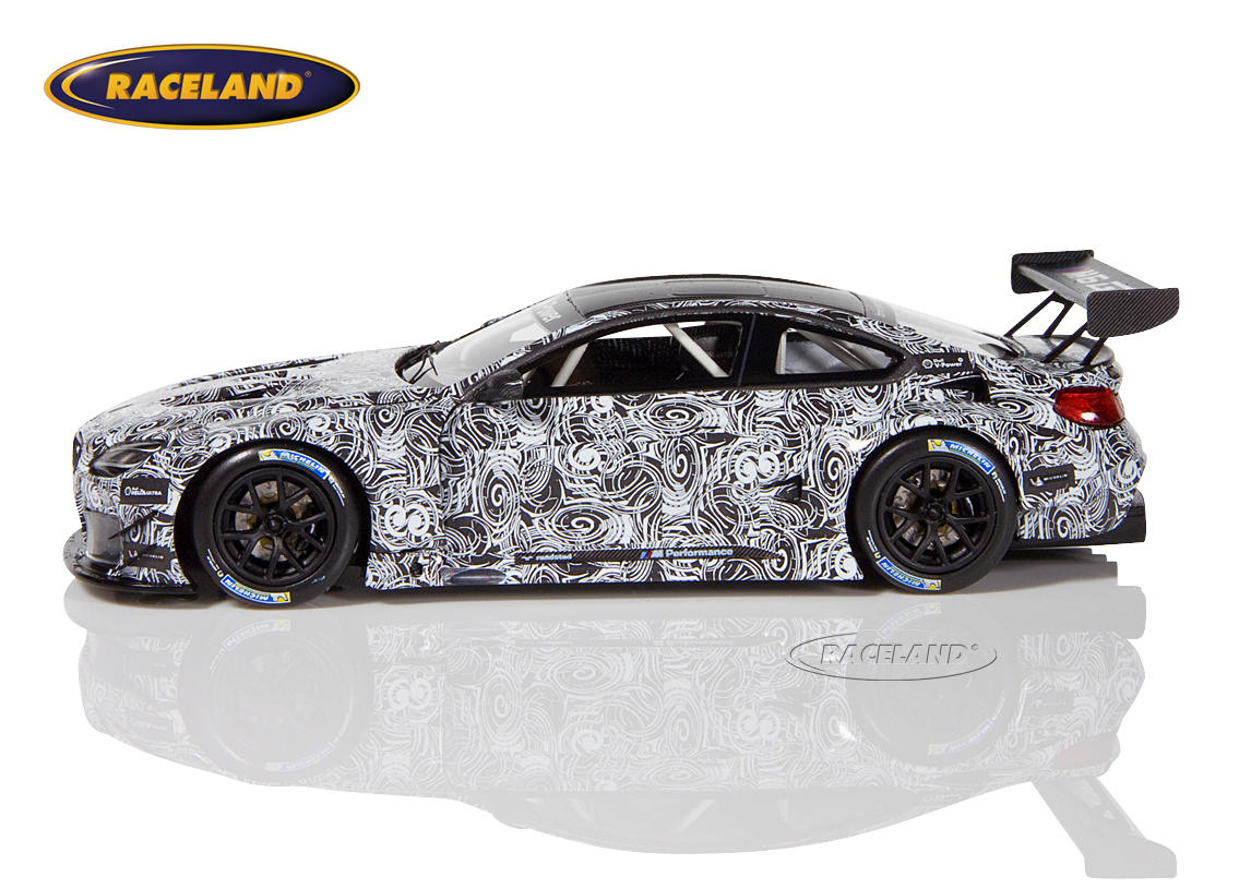 BMW M6 GT3 zebra look presentation Spa 2015 Image 4
