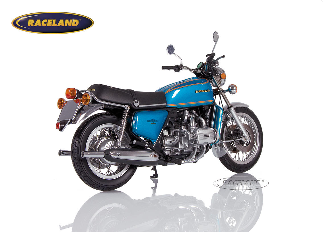Honda Goldwing GL 1000 K0 1975 blue metallic Image 2
