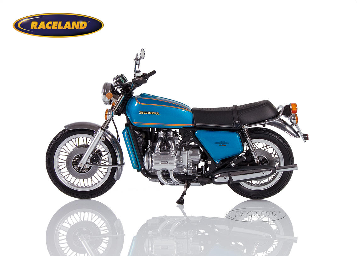 Honda Goldwing GL 1000 K0 1975 blue metallic Image 3