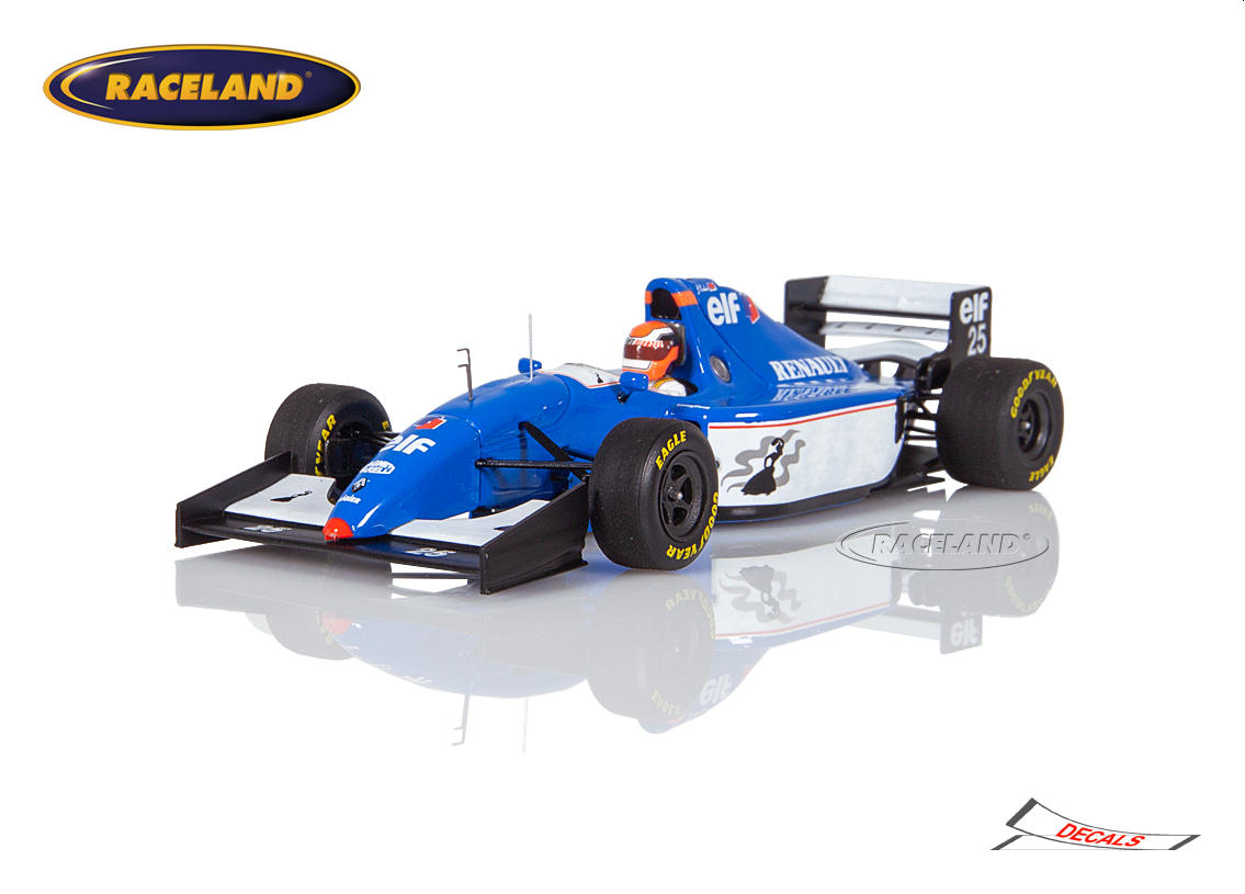 Ligier JS39B Renault F1 Gitanes Blondes 8° GP of Europe Jerez 1994 Johnny Herbert