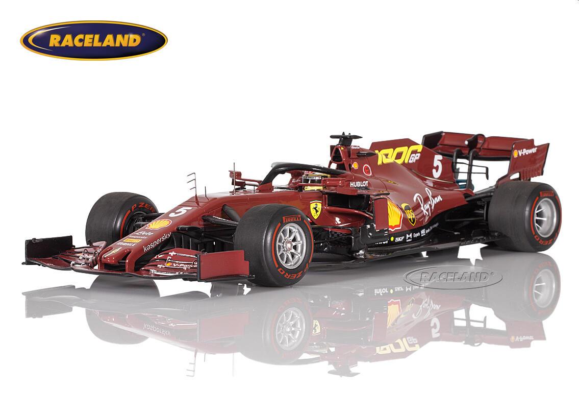 Ferrari Sf1000 F1 Ferrari 1000th F1 Gp Gp Tuscany Mugello 2020 Sebastian Vettel Scale 1 18th 2020 Formula 1 Motorsports