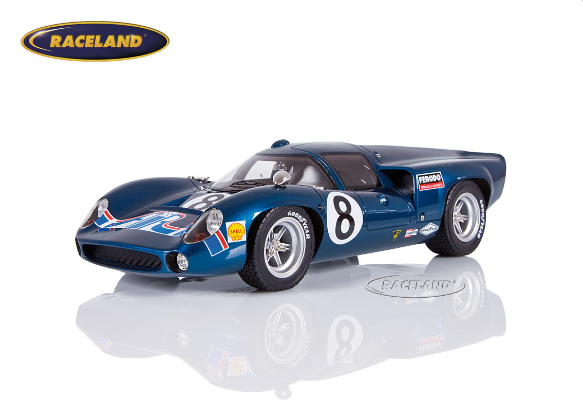 Lola T70 Mk3 American International Racing 2° 24H Daytona 1969 Leslie/Motschenbacher