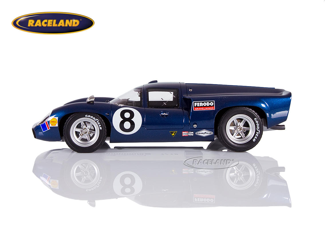 Lola T70 Mk3 American International Racing 2° 24H Daytona 1969 Leslie/Motschenbacher Image 3