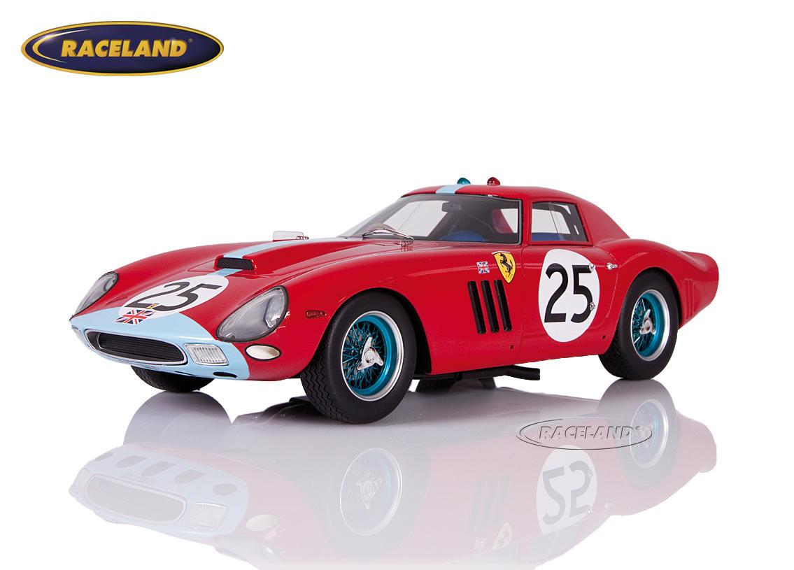 Ferrari 250 Gto 64 Maranello Concessionaires 6 Le Mans 1964 Ireland Maggs Scale 1 18th 1960 1964 24h Le Mans Motorsports