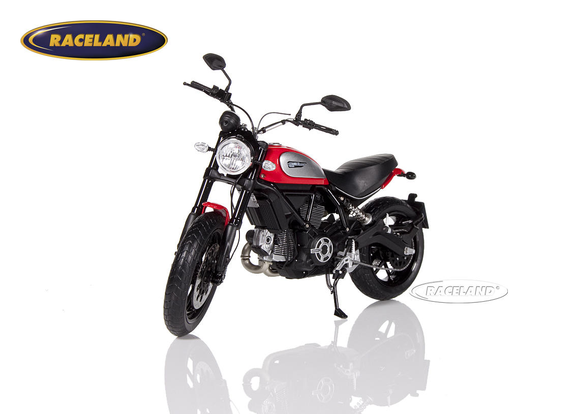 Ducati Scrambler Icon 2015 red