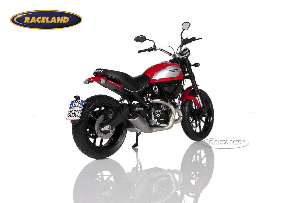 Ducati Scrambler Icon 2015 red Image 2
