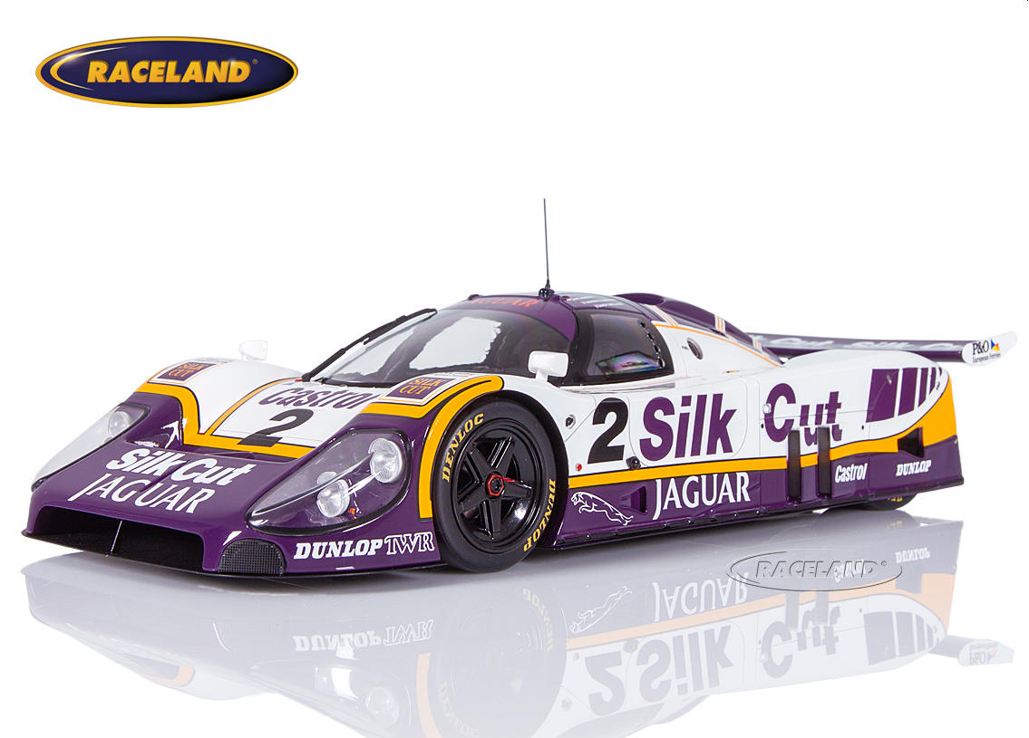 Jaguar XJR-9 LM TWR Silk Cut winner Le Mans 1988 Jan Lammers, Johnny Dumfries, Andy Wallace
