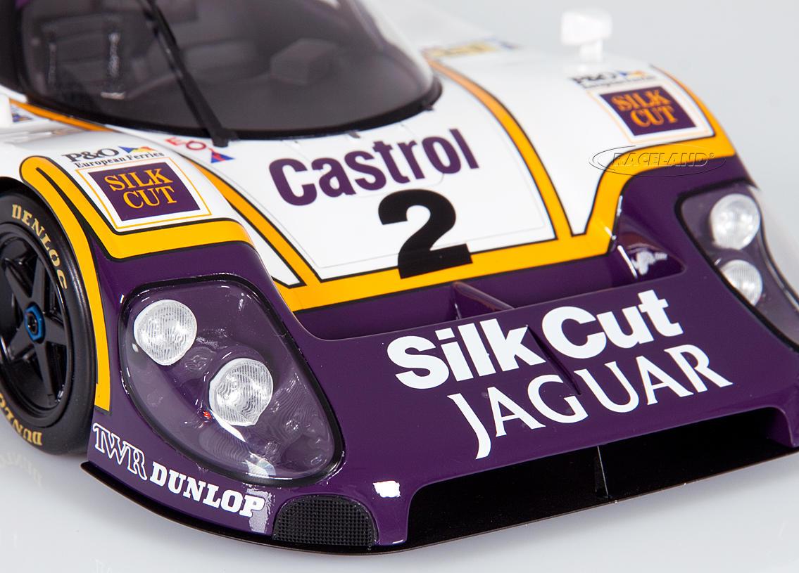 Jaguar XJR-9 LM TWR Silk Cut winner Le Mans 1988 Jan ...