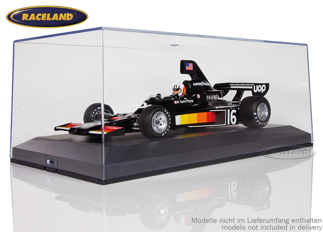 Set of 12 display boxes Raceland 1/18th scale Image 3