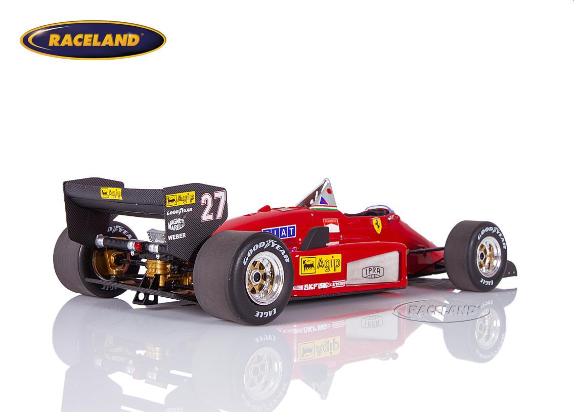 Ferrari 156/85 V6 Turbo F1 Scuderia Ferrari 1985 Michele Alboreto - scale  1/18th 1985-1989 FORMULA 1 MOTORSPORTS