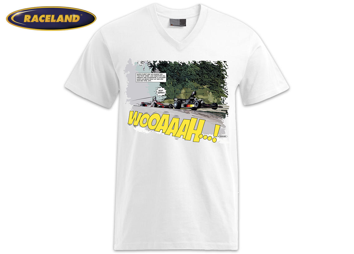 Hedgehoppers at the Ring Racing Cult Comic Premium T-Shirt