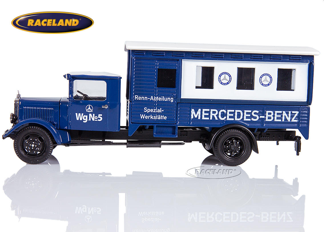 Mercedes-Benz Lo 2750 box truck Mercedes-Benz Rennabteilung 1935 silver arrows workshop truck Image 4