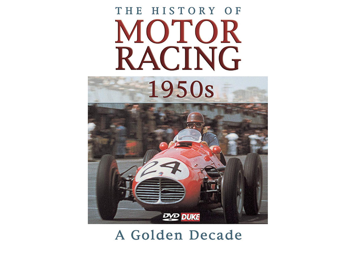 DVD The History of Motor Racing 1950s - a golden decade