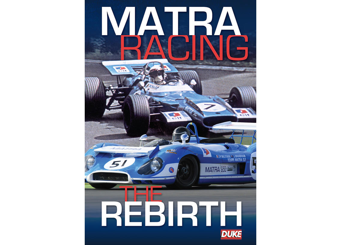DVD Matra Racing - The Rebirth