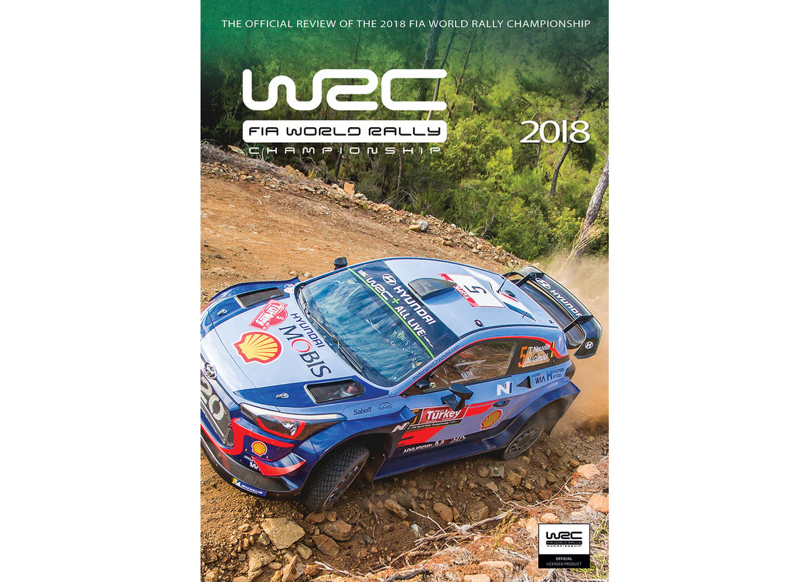 DVD WRC World Rally Championship 2018 official WRC review
