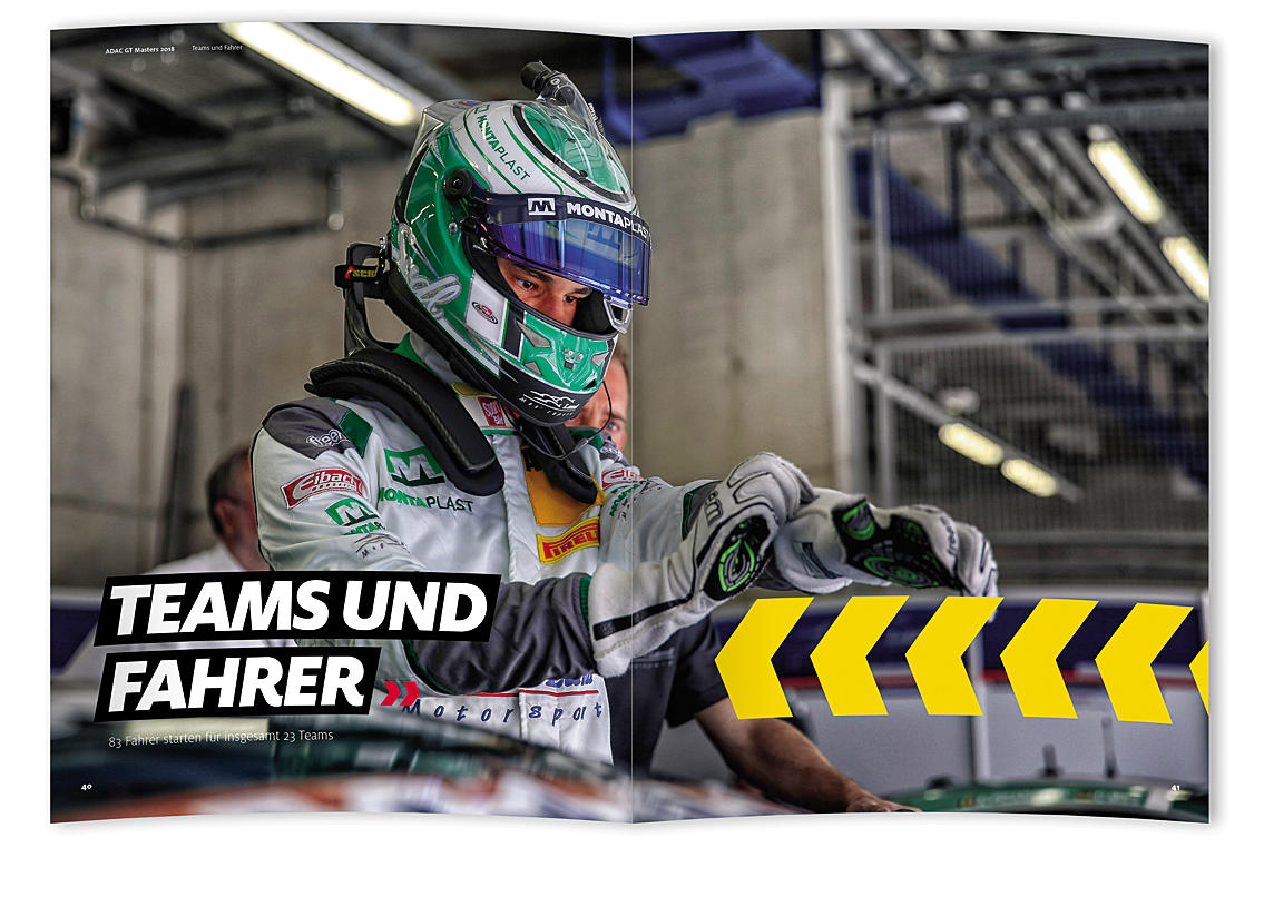 ADAC GT Masters 2018 the official yearbook Image 3
