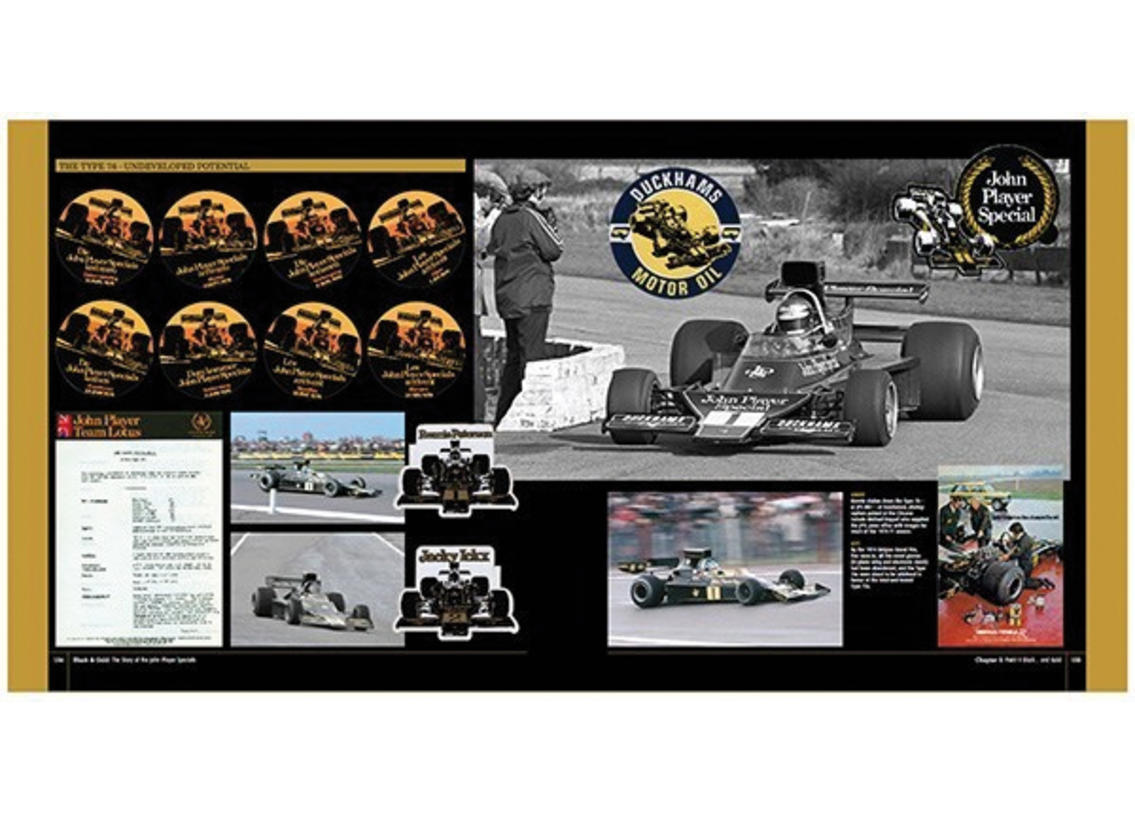 Black & Gold: the Story of the John Player Specials Image 4