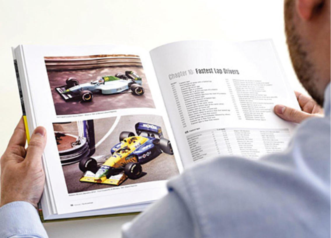 Formula One - the knowledge records and trivia since 1950 by David Hayhoe Image 2