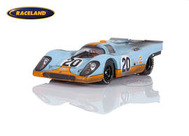 Porsche 917K Gulf John Wyer Automotive Le Mans 1970 Siffert/Redman - raced version