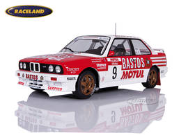 BMW M3 E30 Bastos Motul BMW 4° Tour de Corse 1988 Chatriot/Perin