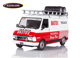 Fiat 242 box van with roof rack Rallye Service vehicle 1988-1989 Bastos Texaco Racing Team